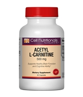Acetyl L-Carnitine, 500mg, 60 Capsules