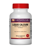 Calcium with Mag, Boron & D3 (Liquid Calcium), 300 mg, 100 Softgels
