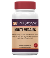 Multi-Veggies, 900mg (per 2 tablets), 60 Tablets