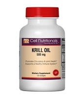 Krill Oil, 500 mg,  120 softgels