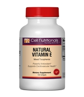 Vitamin E (with mixed natural tocopherols),  400 I.U., 100 Softgels