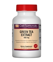 Green Tea Extract (50% EGCG), 400mg, 90 Vegetarian Capsules