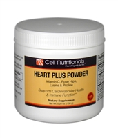 Heart Plus Powder: Vitamin C, L-Lysine & L-Proline 5.28 oz. **Use within 40 days of opening** Limit 20