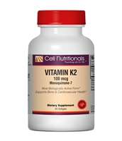 Vitamin K2, 100mcg, 60 Softgels