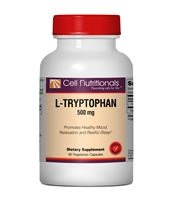 L-Tryptophan - 500 mg, 90 Veg Caps