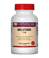 Melatonin, 3mg, 90 Tablets