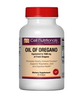 Oil of Oregano, 1500mg, 60 Softgels