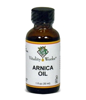 Arnica Oil, 1oz by Vitality Works