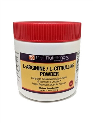 L-Arginine/L-Citrulline Powder, 7.94oz (240g)