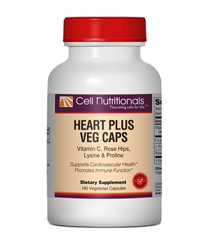 Heart Plus Veg Caps; 180 Capsules *Limit 12*